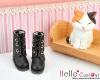 04-01 Blythe/Pullip 靴.Black 黒色