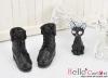 06-01 Blythe/Pullip 靴.Black 黒色