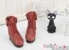 06-07 Blythe/Pullip 靴.Crimson 深紅