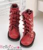 13-04 Blythe/Pullip 靴.Maroonマルーン