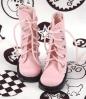 13-07 Blythe/Pullip 靴.Pink 桃色