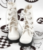 13-08 Blythe/Pullip 靴.White 白色