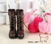 14-01 Blythe/Pullip 靴.Brown 褐色