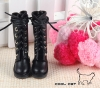 14-06 Blythe/Pullip 靴.Black 黒色