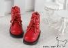 15-02 Blythe/Pullip 靴.Red 赤色