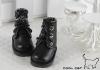 15-04 Blythe/Pullip 靴.Black 黒色