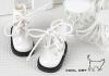 15-09 Blythe/Pullip 靴.Shiny White 光沢のある白