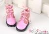 15-12_B/P Boots.Sparkly Metallic Pink