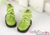 15-13_B/P Boots.Sparkly Metallic Green