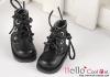 15-14_B/P Boots.Sparkly Metallic Black