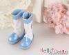 【16-02N】B/P Boots/雨靴.ブルースカイ Sky Blue
