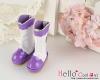 【16-03N】B/P Boots/雨靴.紫