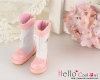【16-04N】B/P Boots/雨靴.ピンク Pink