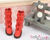 17-07 Blythe/Pullip 靴.Red 赤色