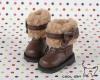 18-01 Blythe/Pullip 靴.Brown 褐色