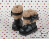 18-02 Blythe/Pullip 靴.Black 黒色