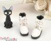 27-1 Blythe/Pullip 靴.White 白色