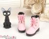 27-3 Blythe/Pullip 靴.Pink ピンク