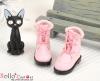 28-4 Blythe/Pullip 靴.Pink ピンク