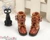 29-4 Blythe/Pullip 靴.Brown 褐色