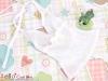 T37.【DAN-01N】SD/DD Bow Tie Halter Top # Thin White