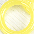 【A10】II.Blythe Pull Ring.Jelly(Round)# Yellow 黄色