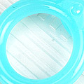 【A13】II.Blythe Pull Ring.Jelly(Round)# Blue ブルー